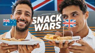 Snack Wars with Lando Norris and Daniel Ricciardo