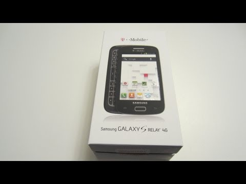 Samsung Galaxy S Relay 4G Unboxing