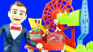 Imaginext Toy Story 4 ! Benson Puts Forky And Woody In Jail