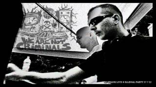 Dj Krank Live @ Illegal Party 27-7-12 (Hardtechno/Schranz)