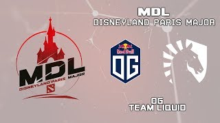 OG vs Liquid | MDL Disneyland® Paris Major