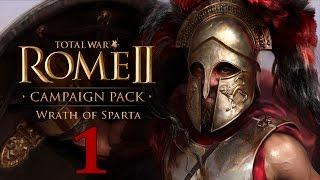 Ярость Спарты #1 - Буря в Греции [Total War: Rome II - Wrath of Sparta](Прохождение кампании