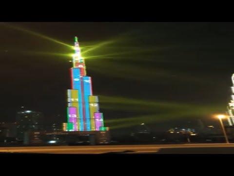 Burj Khalifa Dubai Documentary: The Tallest Building In The World ki sajawat