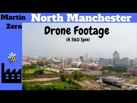 North Manchester From The Air