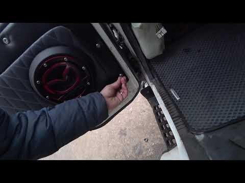 Обшивка двери Японского грузовика Mazda Titan