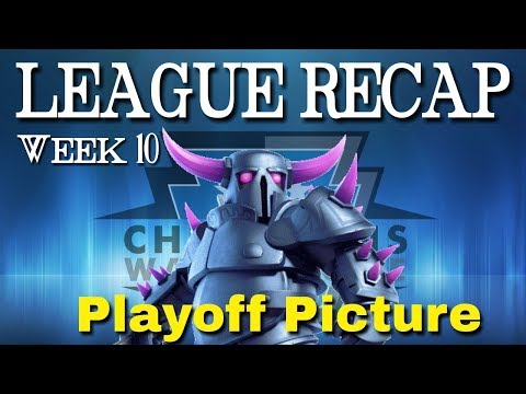 CWL PREMIERE LEAGUE RECAP | ALMOST PLAYOFFS!!! | Week 10