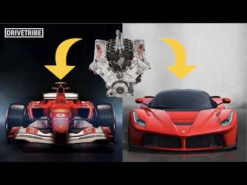 Here's Why It's Tricky To Put An F1 Engine In A Road Car