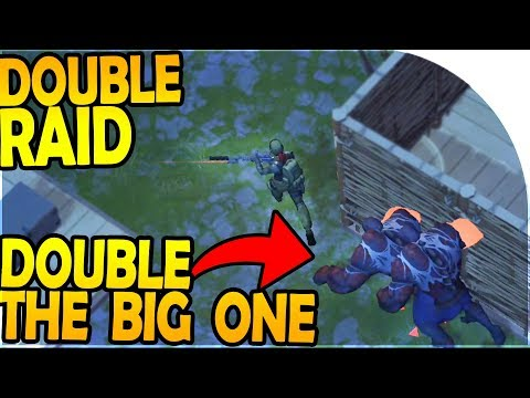 DOUBLE RAID... DOUBLE THE BIG ONE?! - Last Day On Earth Survival 1.7.10 Update