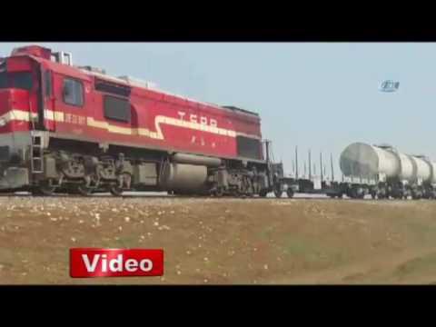Diyarbakırda trenin geçişi esnasında patlama