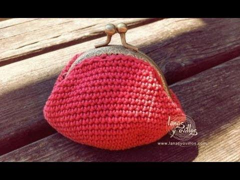 Tuto monedero crochet imagui for Monedero ganchillo boquilla ovalada