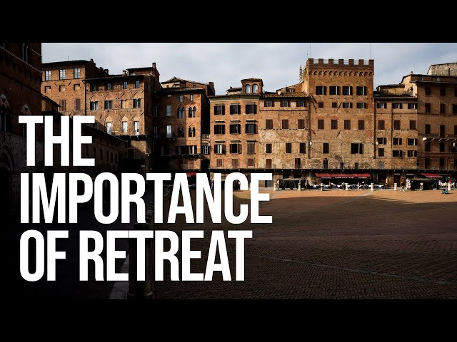 The Importance of Retreat (and the story of how this channel began)
