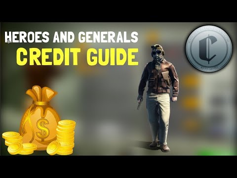 Credit guide - Most efficient way to earn credits | Heroes and Generals
