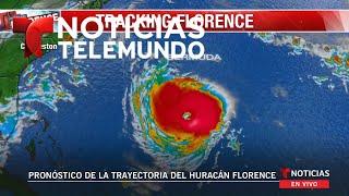 EN VIVO: Pronóstico del huracán Florence con el meteorólogo Luis Carrera