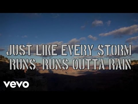 Gary Allan - Every Storm (Runs Out Of Rain) - Lyric Video