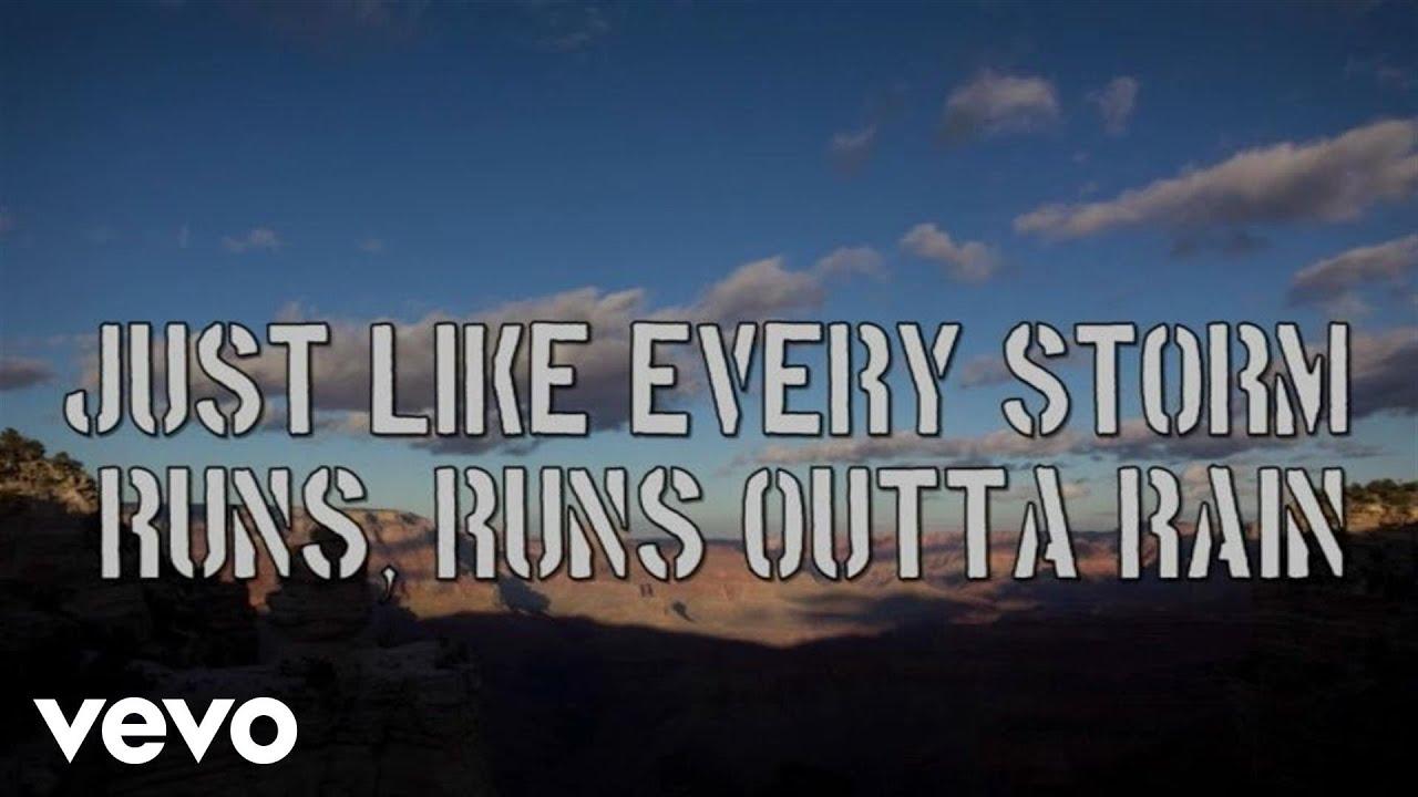Gary Allan Every Storm Runs Out Of Rain Lyric Video