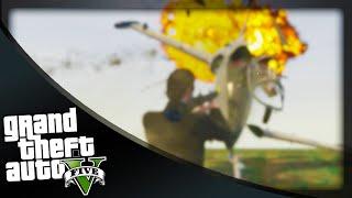 GTA 5 Funny Moments - 'DODGE THE JET!' (GTA 5 Online Funny Moments)