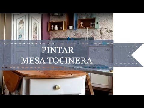 PINTAR UNA MESA TOCINERA - MARY PAINT