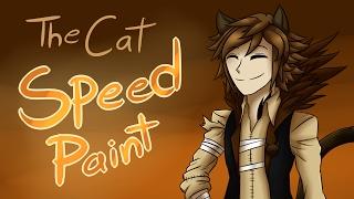fnac 2 the cat wolf con f speedpaint by emil inze