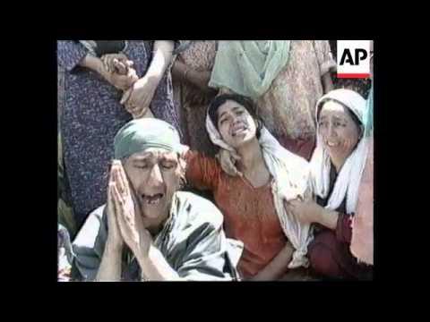 KASHMIR: SRINAGAR: LAND MINE EXPLOSION KILLS 4 PEOPLE
