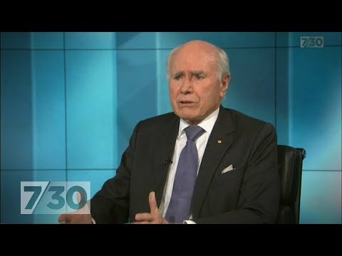 Former PM John Howard Says There's No Danger Liberal Party Will Split | 7.30