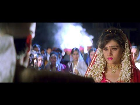 Darwaje Pe Tere Baarat - Krishna (1996) -  Abhijeet Bhattachary - Full Video Song *HD*