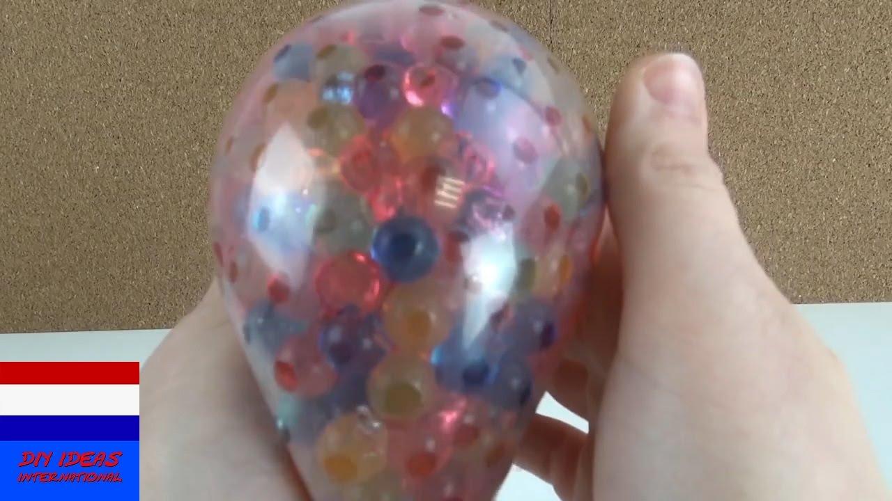 Ongekend Orbeez-bal knutselen | zelf stressbal maken | stress wegkneden ZH-58