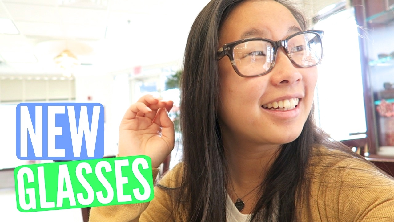 glasses with Asian girl
