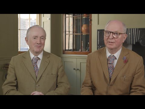 Gilbert & George: Charcoal on Paper Sculptures