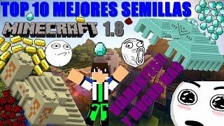 TOP 10 Mejores semillas para Minecraft 1.8