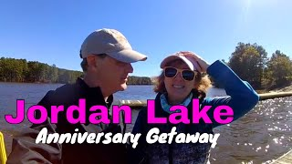 Jordan Lake Anniversary Getaway  | Poplar Point Campground | A…