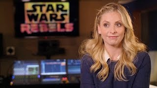 Sarah michelle gellar discusses her upcoming role as the seventh sister in star wars rebels.new episodes starting october 14 at 9:30p on disney xd!http://www...