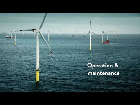 Offshore wind operation and maintenance