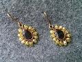 teardrop earrings - How to make wire jewelery 203