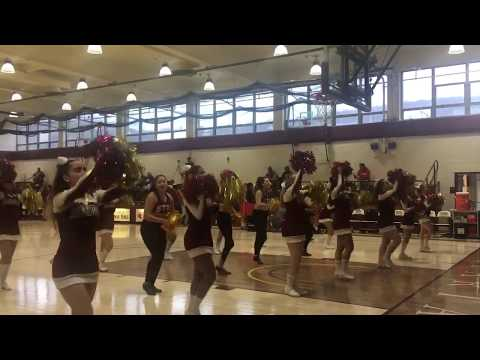 St. Thomas Aquinas College Cheerleading & Dance Teams Performance