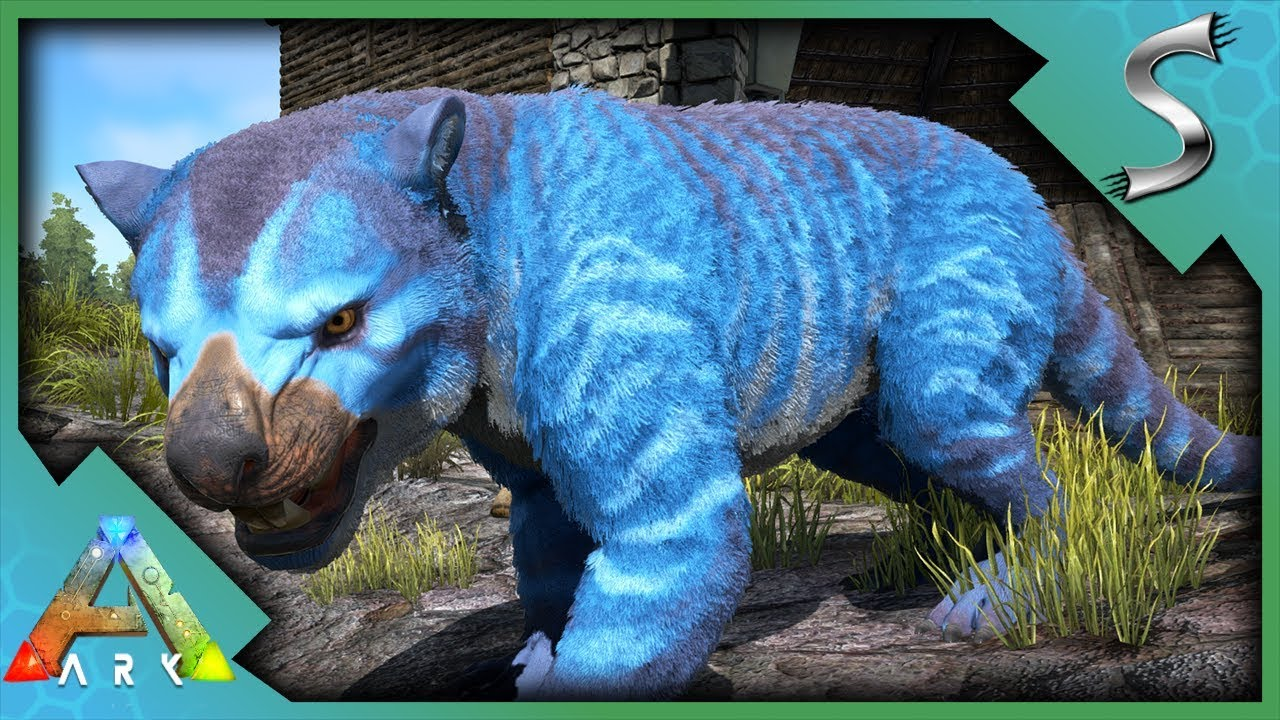 Mutated Thylacoleo Epic Colour Mutation Thylacoleo In Ravine Cave