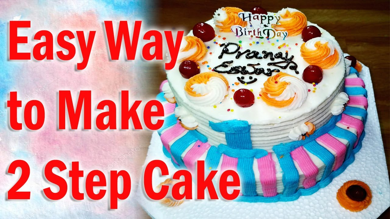how to make a bakery cake at home