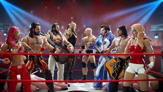 Enter the world of Mattel WWE action figures