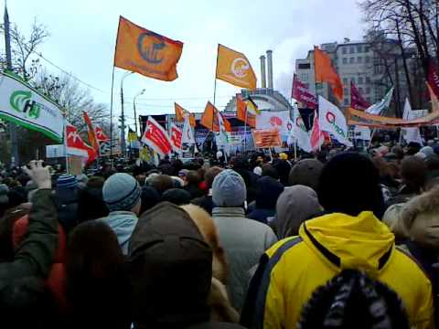 Митинг на Болотной площади 10 декабря 2011 года (Ролик 03)