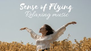 Soft Calming Relaxing Music-Stress Relief Music &amp Soothing Guitar Music  Flying