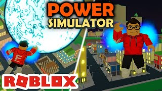 I LEARNED an ULTRA POWER and I know how to FLY! -Roblox Power Simulator #02