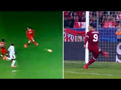 Roberto Firmino Scored Another No-Look Goal And Liverpool Fans Loved It