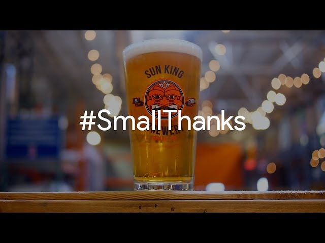 #SmallThanks for Sun King Brewing | Google