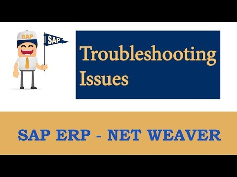 SAP Workflow (Troubleshooting issues):