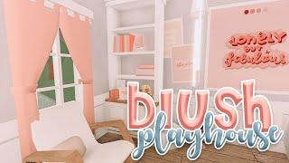Cute Aesthetic Blush Kids Playhouse