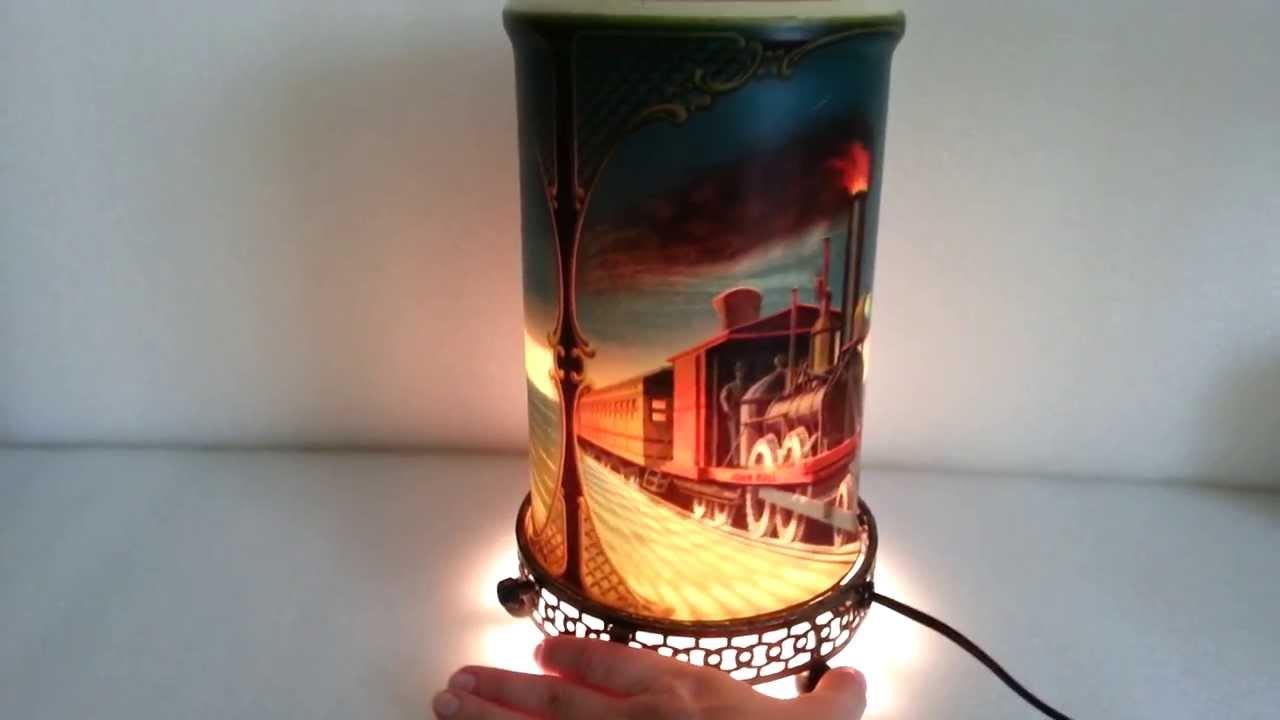 Vintage 1956 Econolite John Bull Locomotive Train Motion Lamp ...