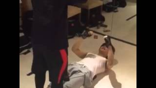 This workouts are videos collected from GACKT's Instagram.