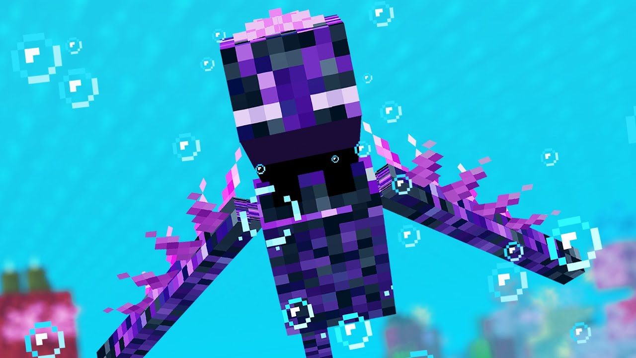 Minecraft Mobs if they lived underwater