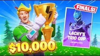 so i played Lachlan's $10,000 Trios Cup in fortnite... (can we make it to round 2?)
