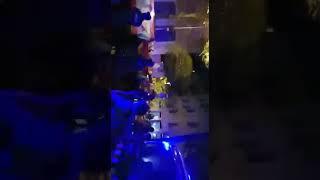 Barcelona : Manifestación españoles frente cuartel de gracia