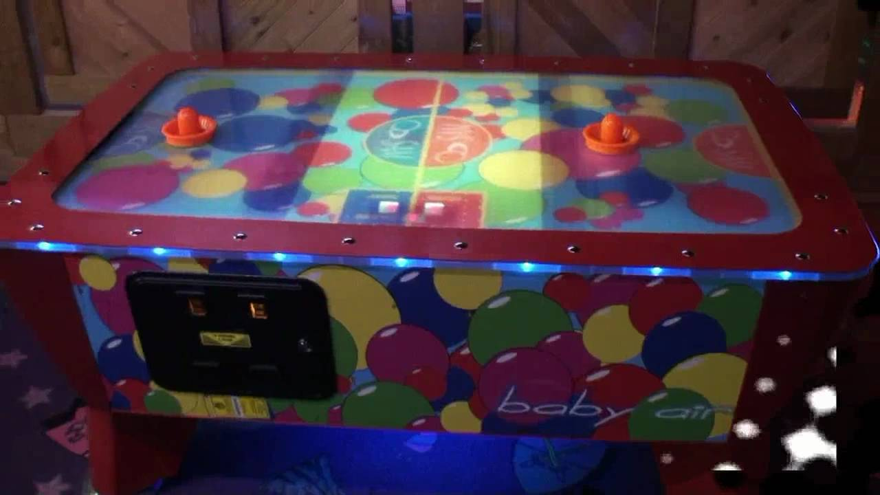 Nice Baby Air Hockey Table   BMIGaming.com   ICE   YouTube